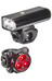 Lezyne LED Macro Drive 600 XL / LED Zecto Cykellysen Set svart
